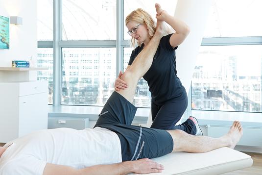 Physiotherapie Krankengymnastik auf neurophysiologischer Basis
